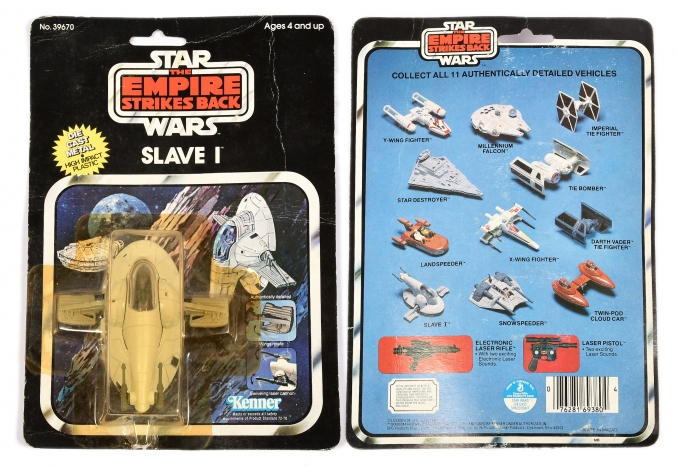 Kenner Star Wars The Empire Strikes Back vintage diecast Slave