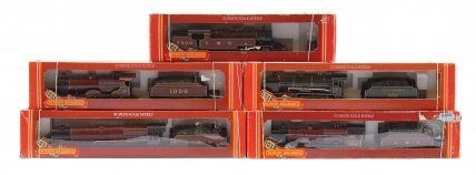 Hornby Railways Pre nationalisation Steam Locos comprising R055