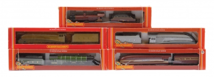 Hornby Railways Pre nationalisation Steam Locos comprising R312