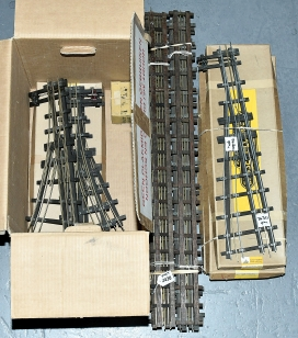 Bassett-Lowke and similar O Gauge all brass 3-rail raised centre