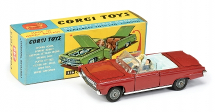 Corgi No.246 Chrysler Imperial red body