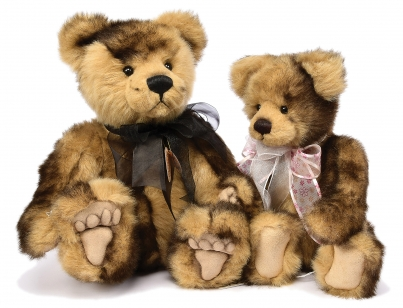 Charlie Bears pair of teddy bears: (1) Kyle