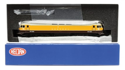 Heljan OO Gauge 4000 Co-Co Hawker Siddeley/Brush yellow and brown