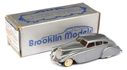 Brooklin Models No.BRK1 Pierce Arrow - silver/grey