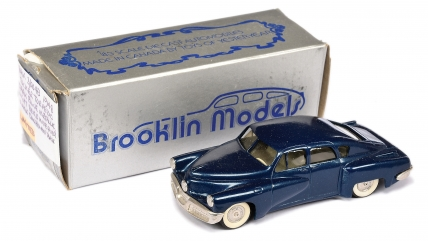 Brooklin Models No.BRK2 1948 Tucker Torpedo - blue body