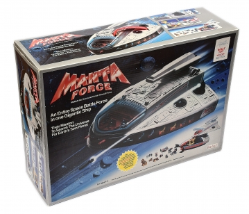 Bluebird Manta Force Space Adventure set, Good