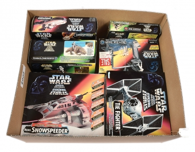 Kenner Hasbro Star Wars POTF2 vehicles and Playsets