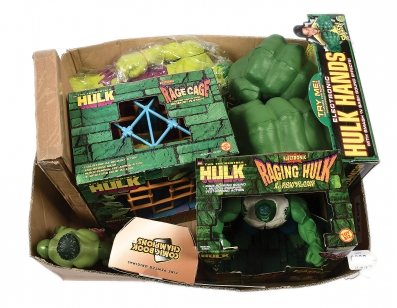 Incredible Hulk collectables x eight