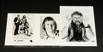 The Goodies signed photographs: (1) The Goodies