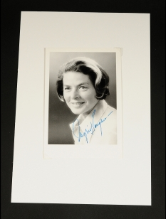 "Ingrid Bergman, signed photograph, 6"" x 4""."