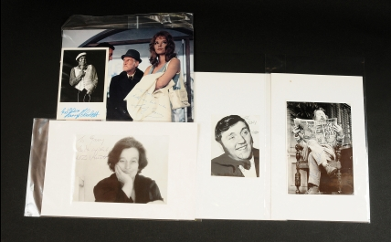British Comedy signed photographs: (1) Willie Rushden;