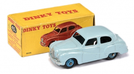 Dinky No.40J Austin Somerset Saloon - pale blue body
