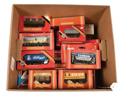 OO Gauge Passenger and Goods Rolling Stock comprising Hornby