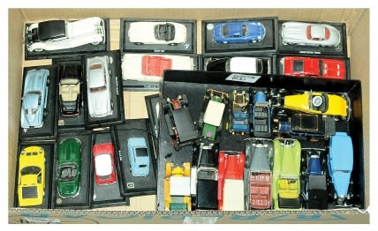 Rio and other Unboxed Vintage Cars