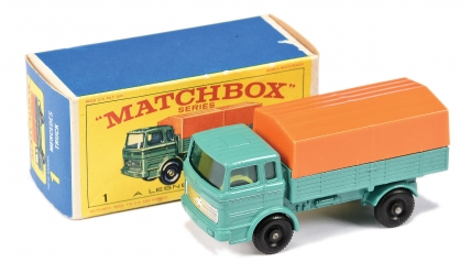 Matchbox Regular Wheels No.1e Mercedes LP Covered Truck