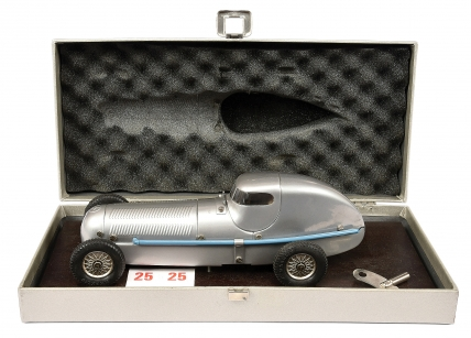 Marklin large scale tinplate clockwork Mercedes Racing Car of