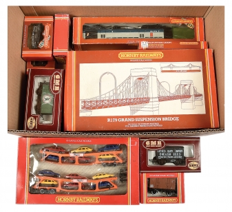 OO Gauge Rolling Stock and Accessories comprising Hornby Railways