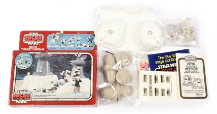 Kenner Star Wars vintage Micro Collection Hoth Turret Defense,