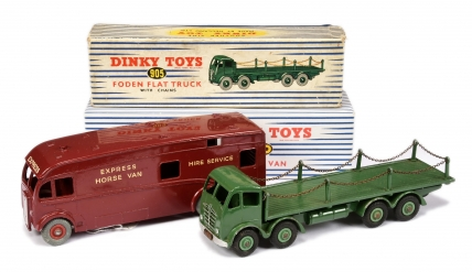 Dinky 905 Foden (2nd type) Flat Truck