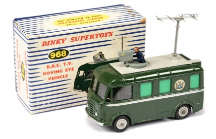 "Dinky 968 ""BBC TV"" Roving Eye Vehicle - green"