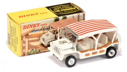 "Dinky 106 ""The Prisoner"" Mini Moke - white body"