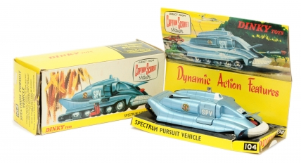 "Dinky 104 ""Captain Scarlet"" Spectrum Pursuit Vehicle"