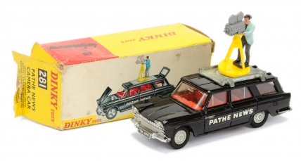 "Dinky 281 Fiat 2300 Station Wagon ""Pathe News"""