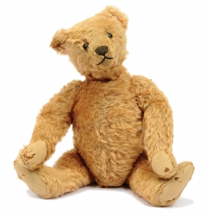 Steiff vintage teddy bear, German, 1909-1920s
