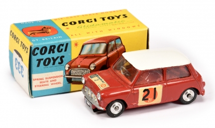 "Corgi 333 BMC Mini Cooper S ""RAC International Rally"""