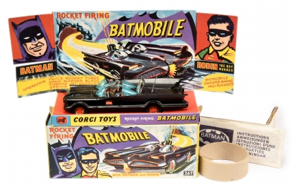 "Corgi 267 ""Batman"" - Batmobile"