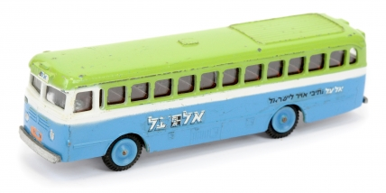 Gamda (Israel) Single Decker Coach - two-tone green