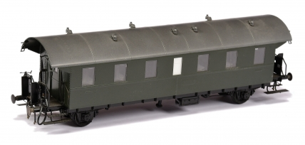 Hubner O Gauge DB 4-wheel All 1st Thunder Box undecorated in