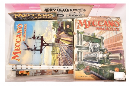 Hornby/Meccano Magazines pre-war a quantity consisting of 1932,