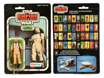 Palitoy Star Wars The Empire Strikes Back vintage Bossk 3 3/4