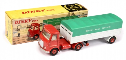 "Dinky 914 AEC ""British Road Services"" Articulated Lorry"