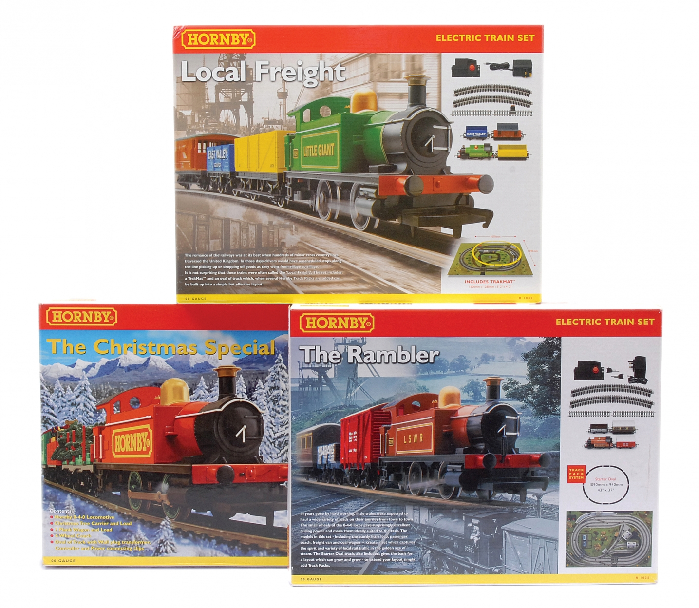 Hornby (China) Train Sets comprising R1085