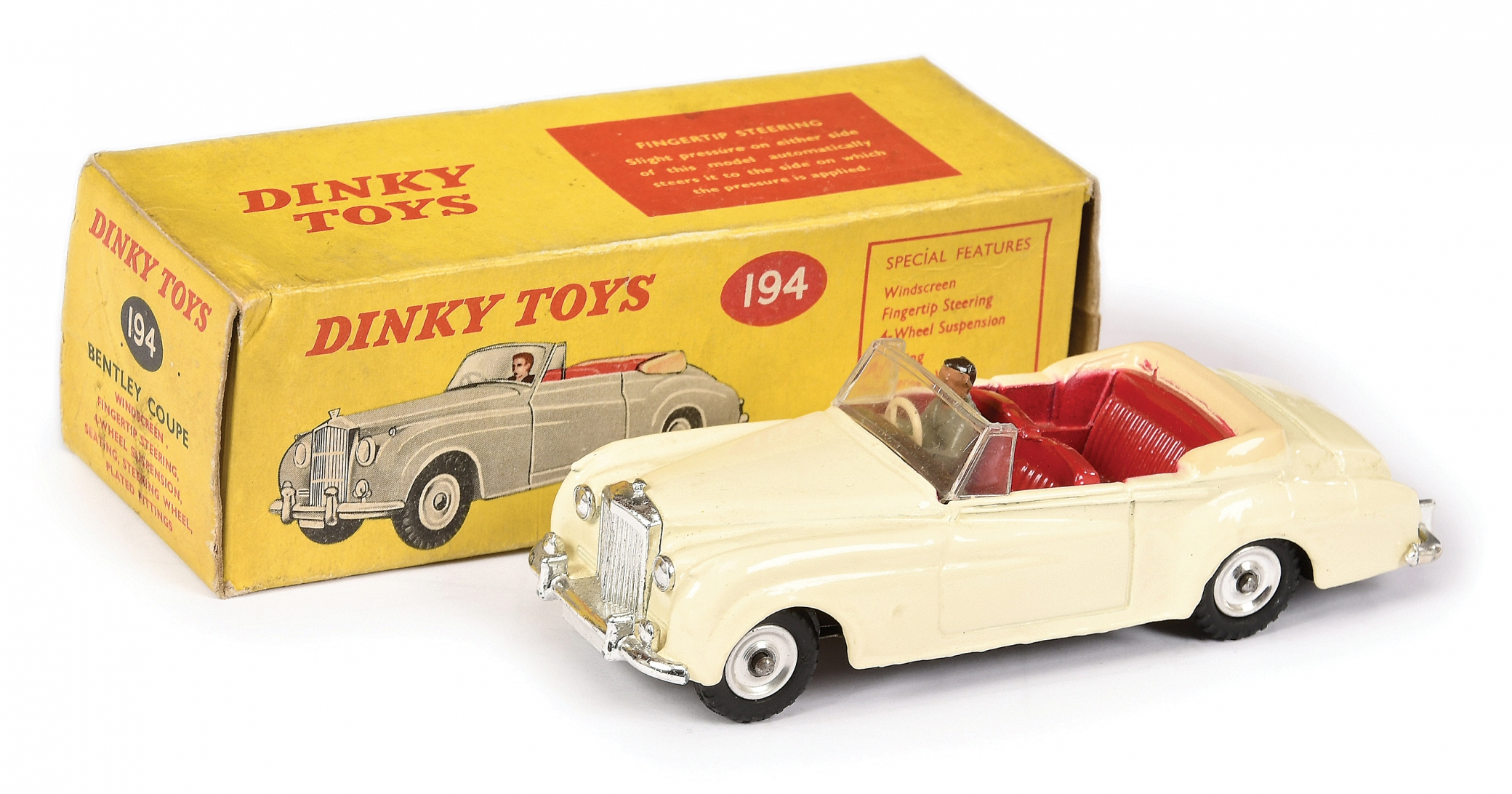 South African Dinky No.194 Bentley Coupe