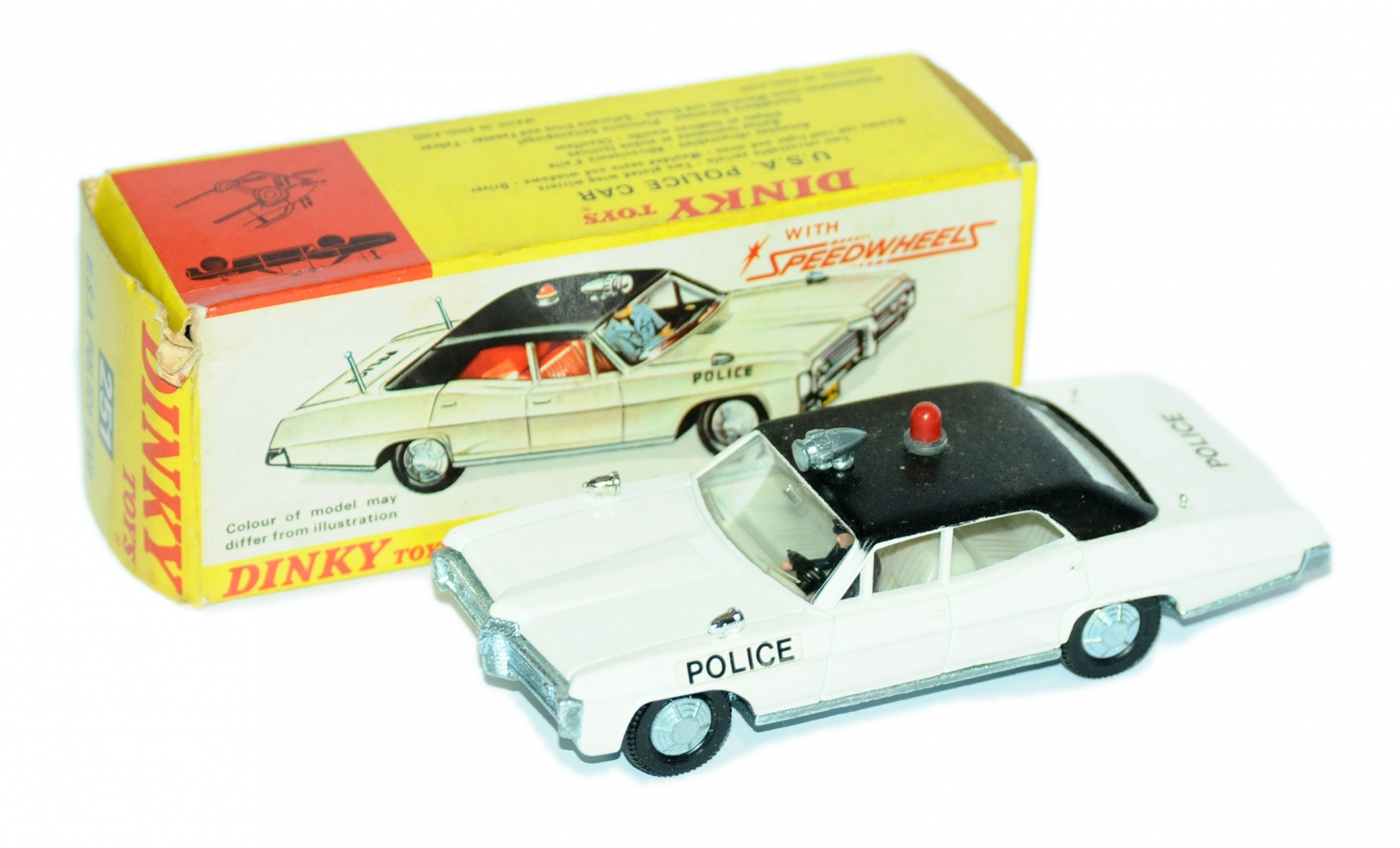 Dinky a boxed 251 USA Police Car