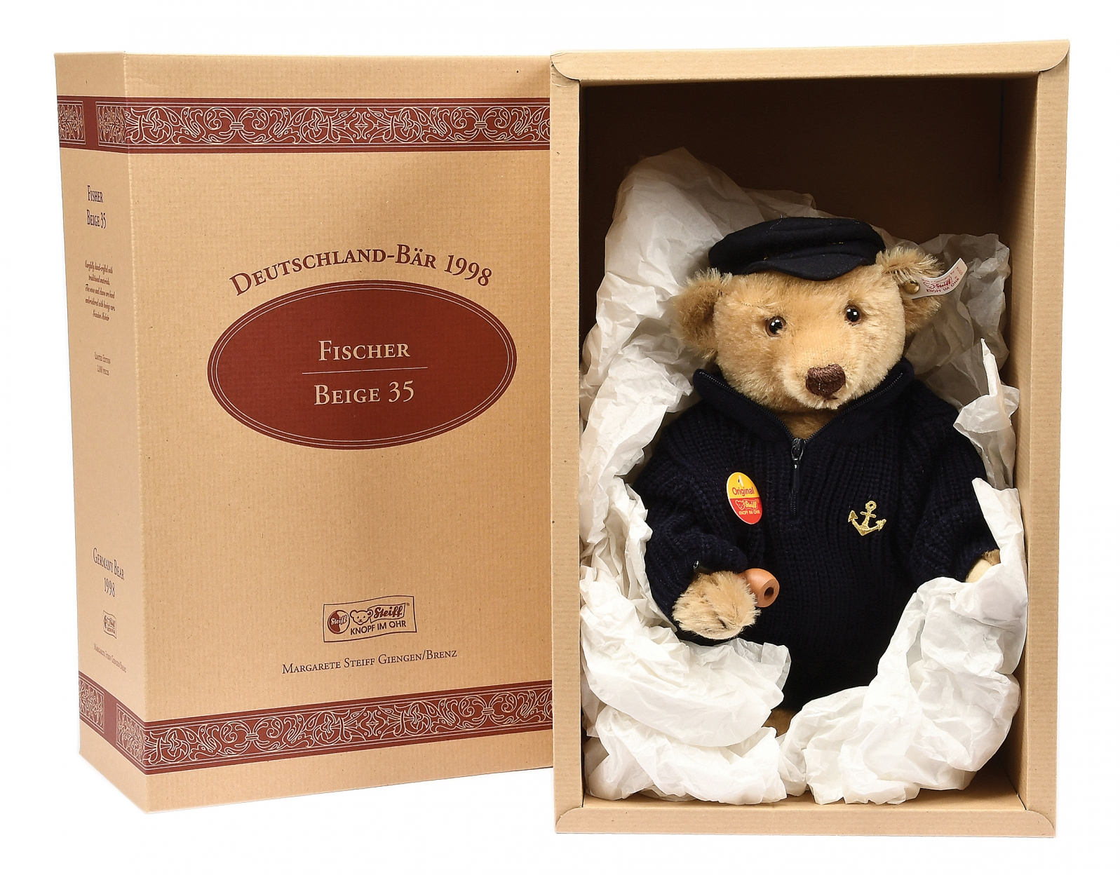 Steiff Fisher Bear, 1998, German Exclusive