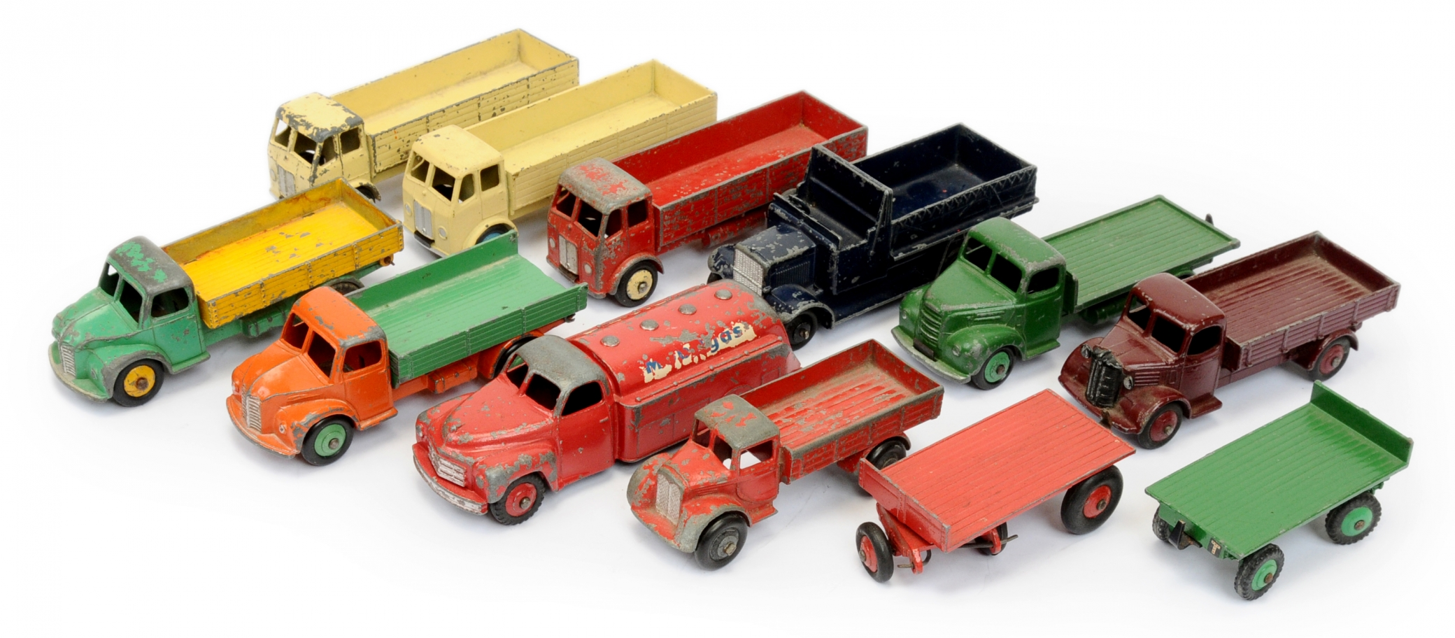 Dinky Toys a group of smaller scale Commercials